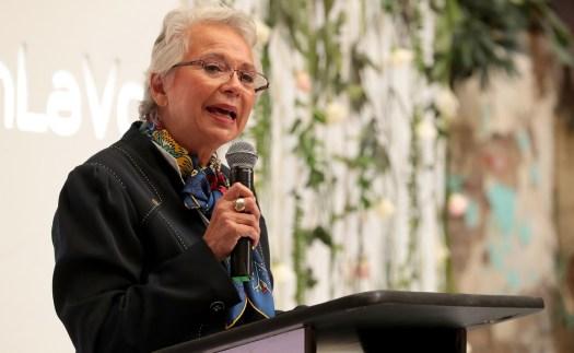 Me voy de Segob con la satisfacción del deber cumplido, dice Olga Sánchez Cordero