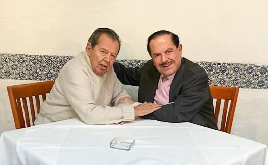 Ealy Ortiz y Muñoz Ledo hacen votos para que se preserve la libertad de opinión