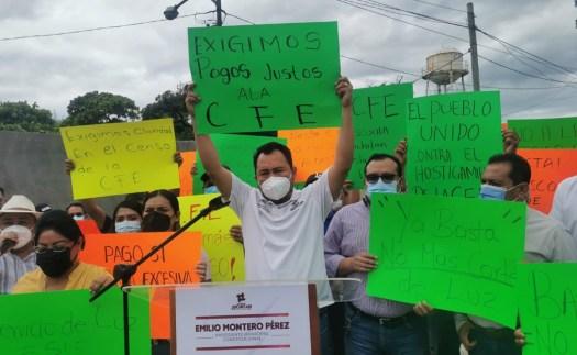 Cabildo de Oaxaca protesta contra CFE; acusa hostigamiento y cobros indebidos por 27 mdp