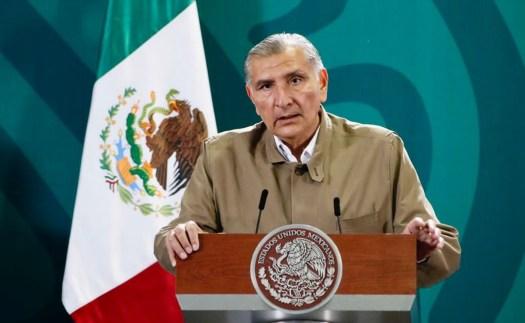 """""""El país no se merece un clima de crispación"""", dice Adán Augusto López en el Senado"""