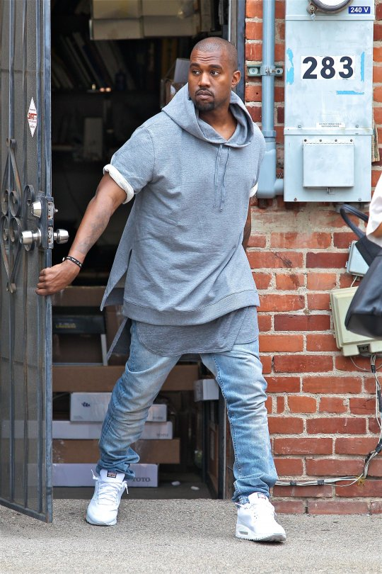 kanye west in APC