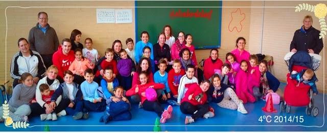 foto 4ºC discapacidad y familia en educación física: educación física en familia