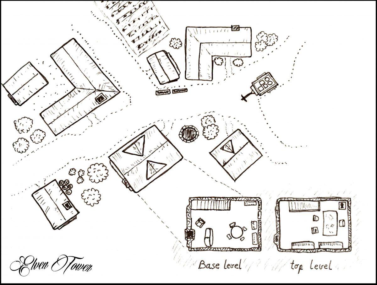 Town Neighborhood Map