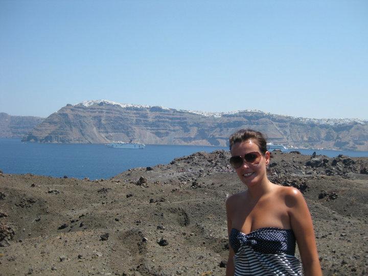 Volcán Santorini