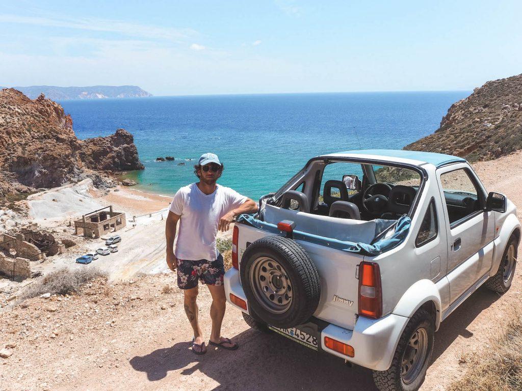 Alquiler de coche en Milos