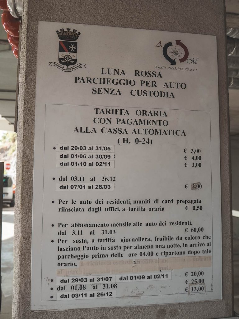Parking Amalfi
