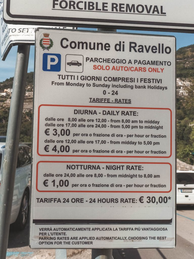 Parking Ravello