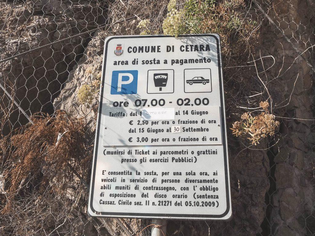 Parking Cetara