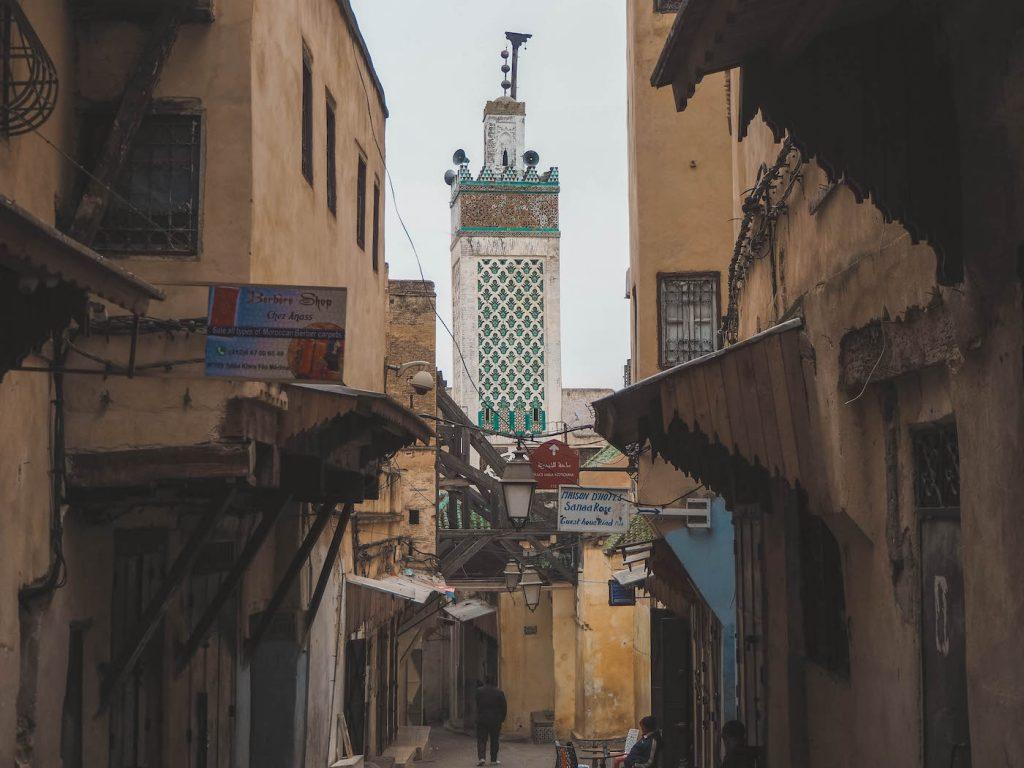 Minarete en Fez