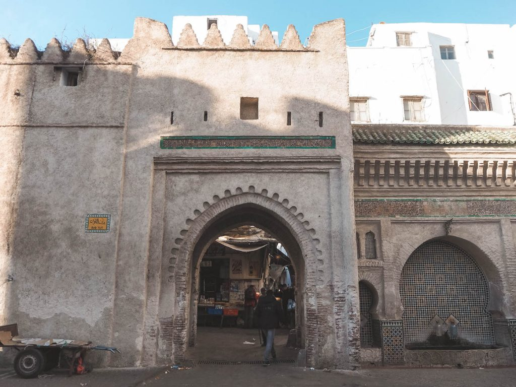 Puerta de la medina de Tetuán
