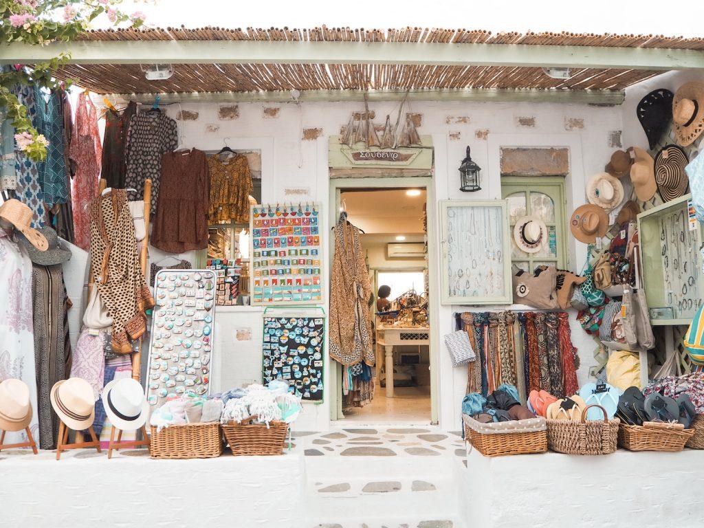 Tienda en Koufonisia