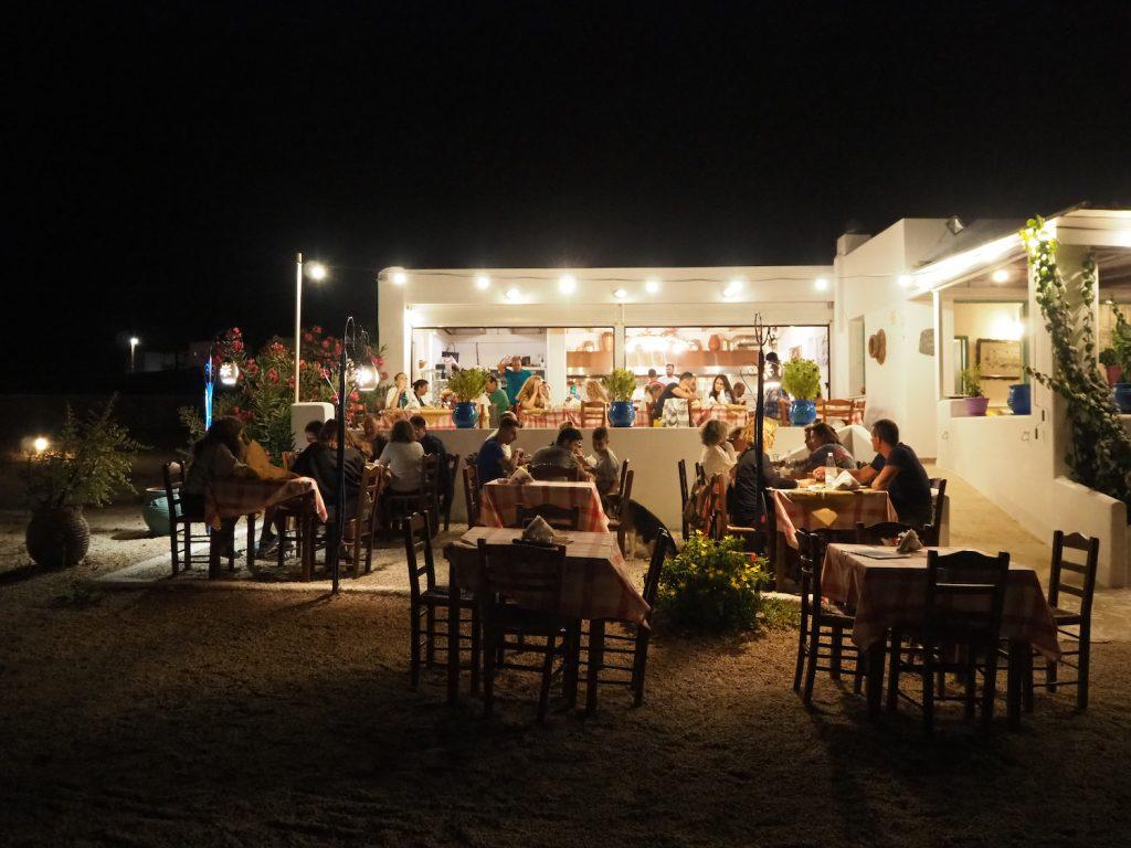 Dónde comer en Koufonisia