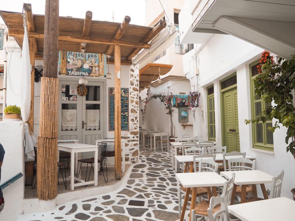 Dónde comer en Naxos