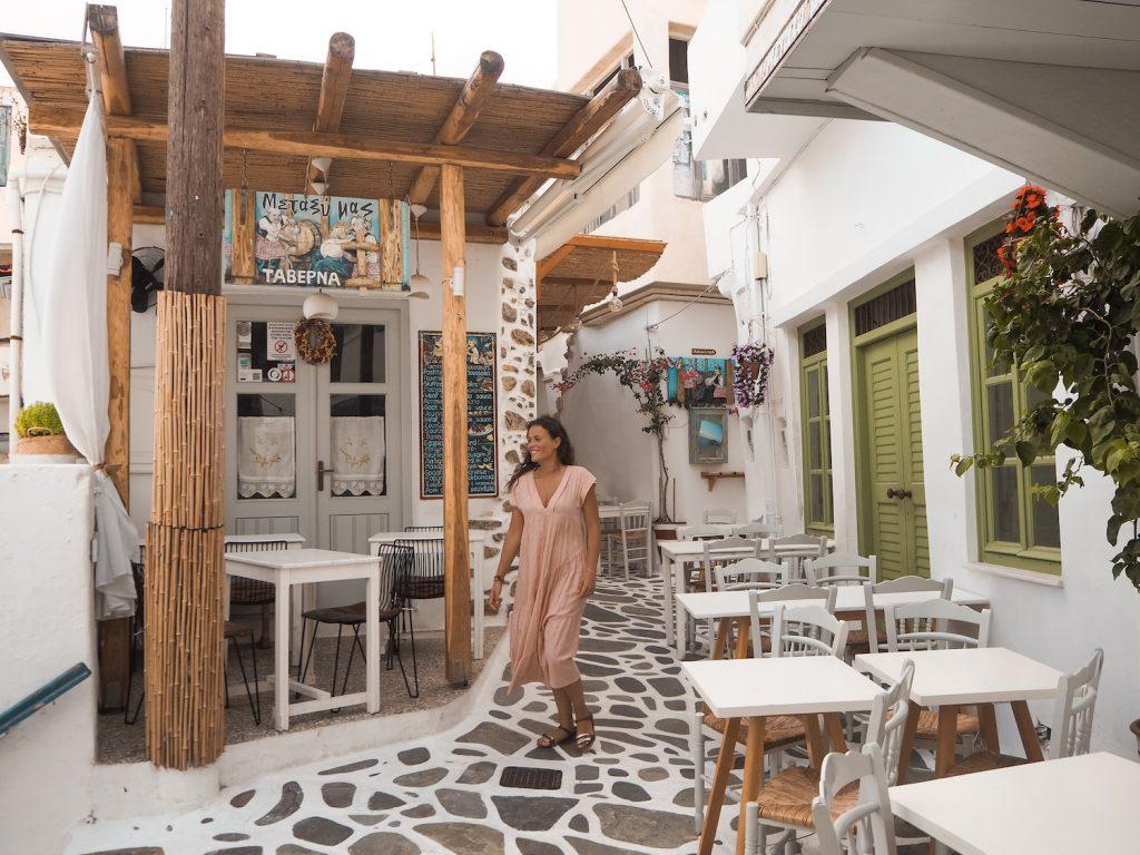 Chora en Naxos
