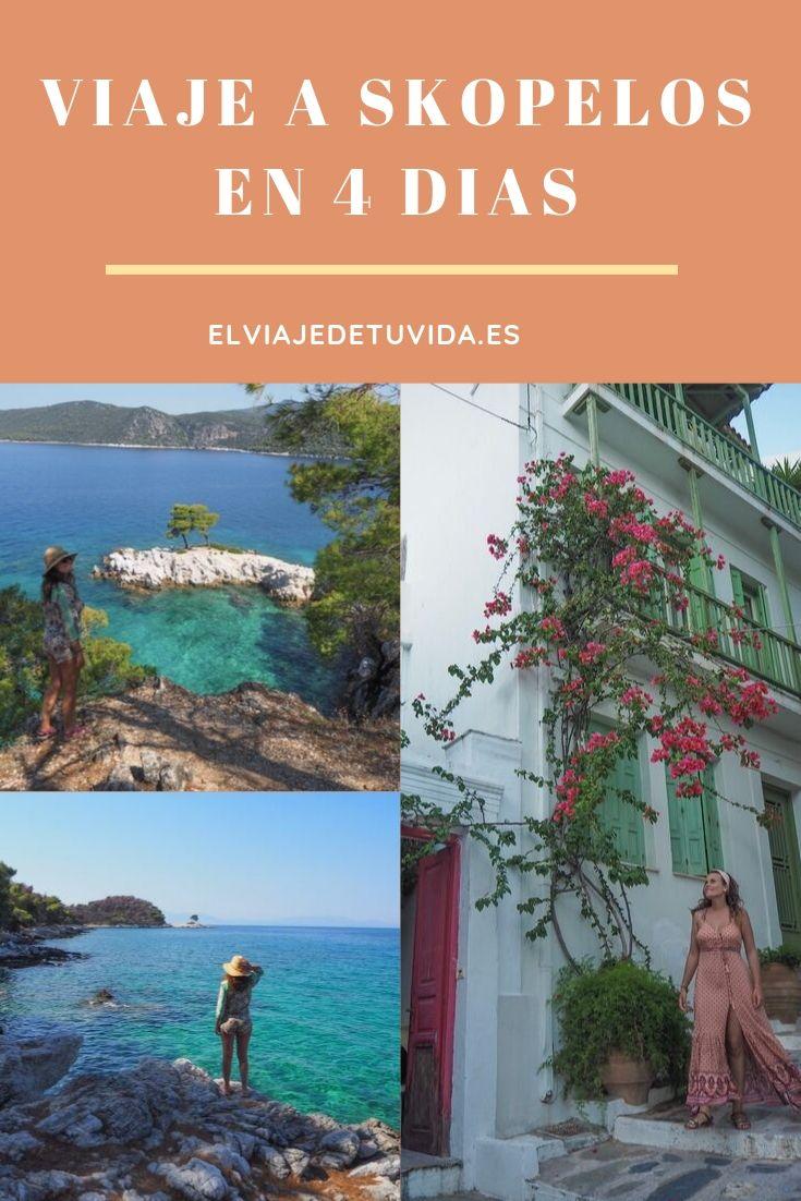 Skopelos en 4 días
