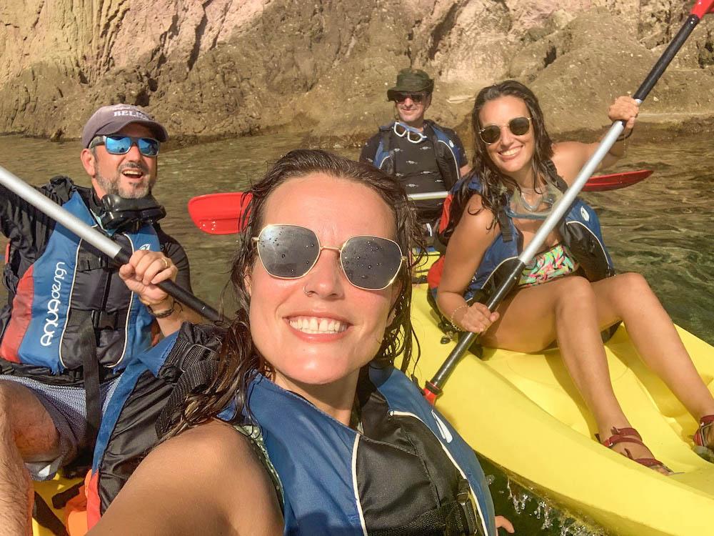 Kayak en Almería