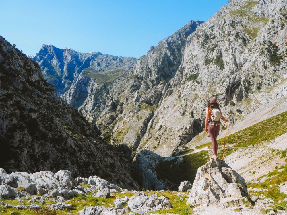 Ruta de viaje al interior de Asturias