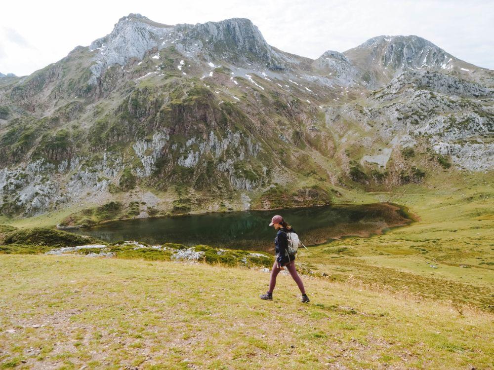 Trekking por los lagos de Saliencia