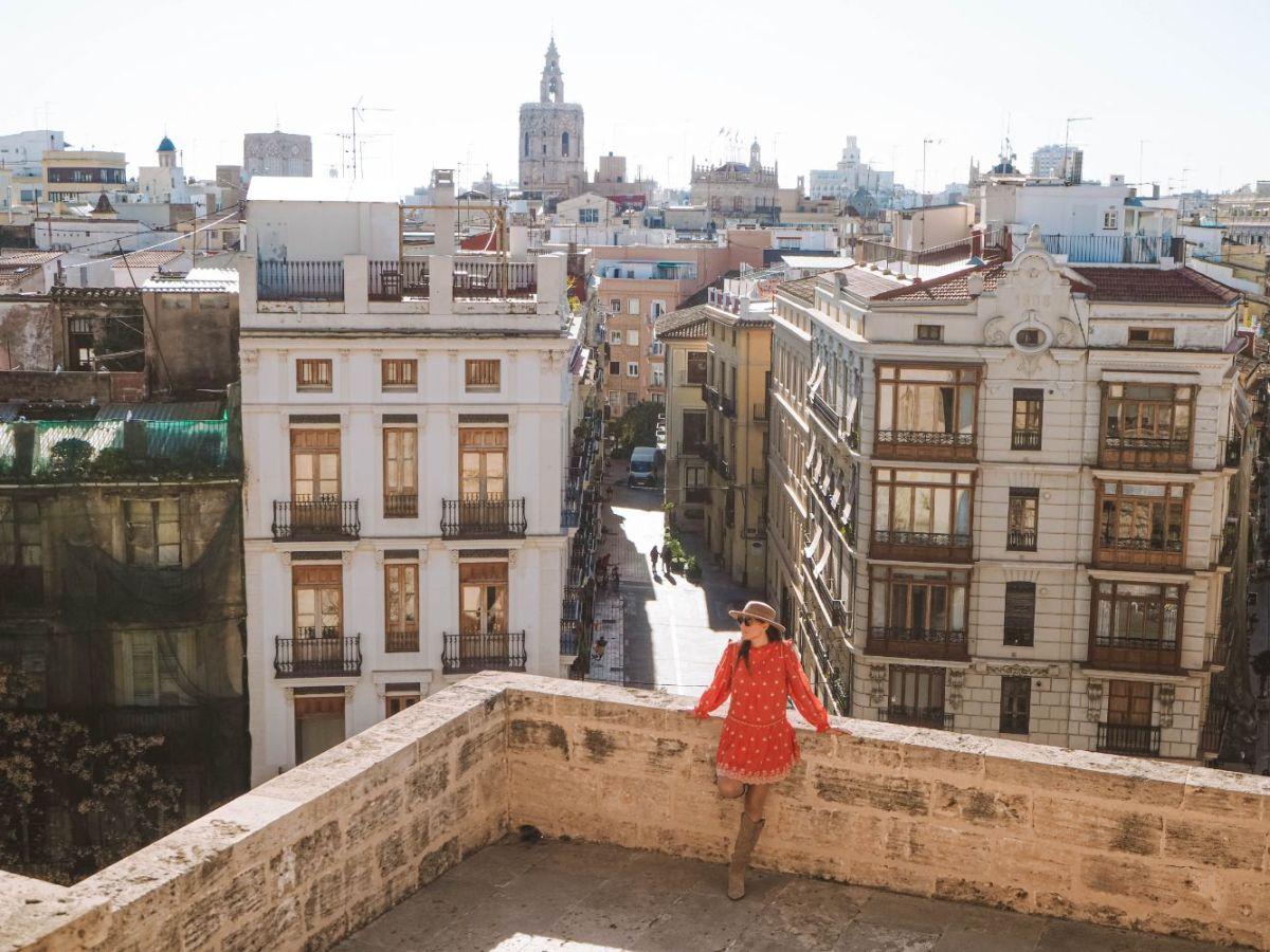 Barrio de EL Carmen en Valencia
