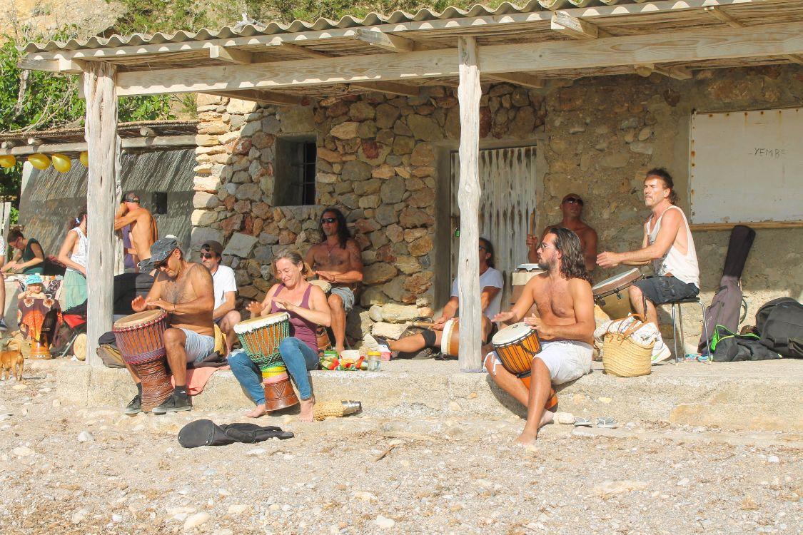 Atardecer en Benirrás Ibiza