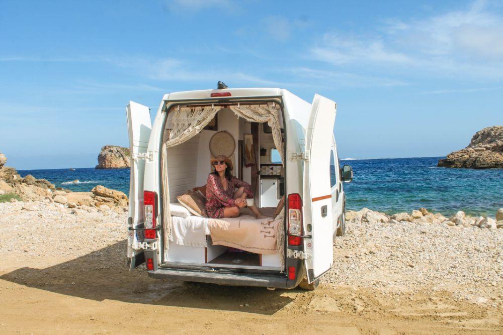 Ibiza en furgoneta