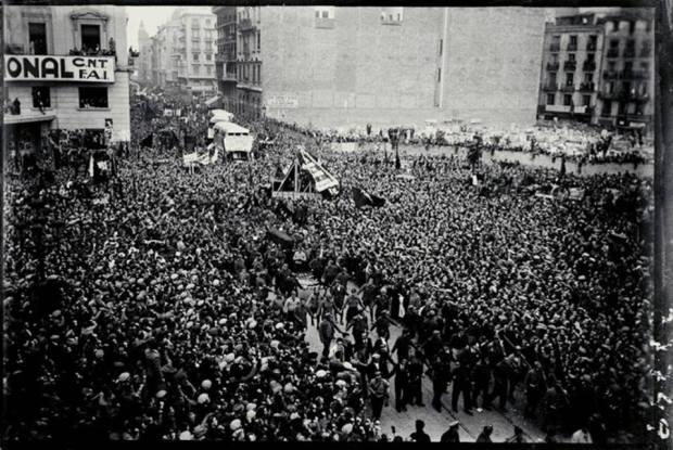 Emma Goldman a Durruti