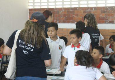 Así vivimos la experiencia del Día Internacional del Voluntario Telefónica