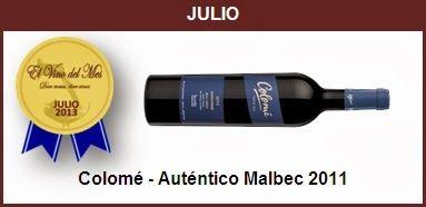 Julio - Colomé - Auténtico Malbec 2011