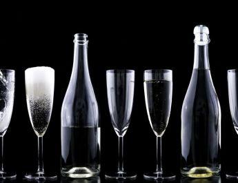 La mayoría brinda con vinos espumosos