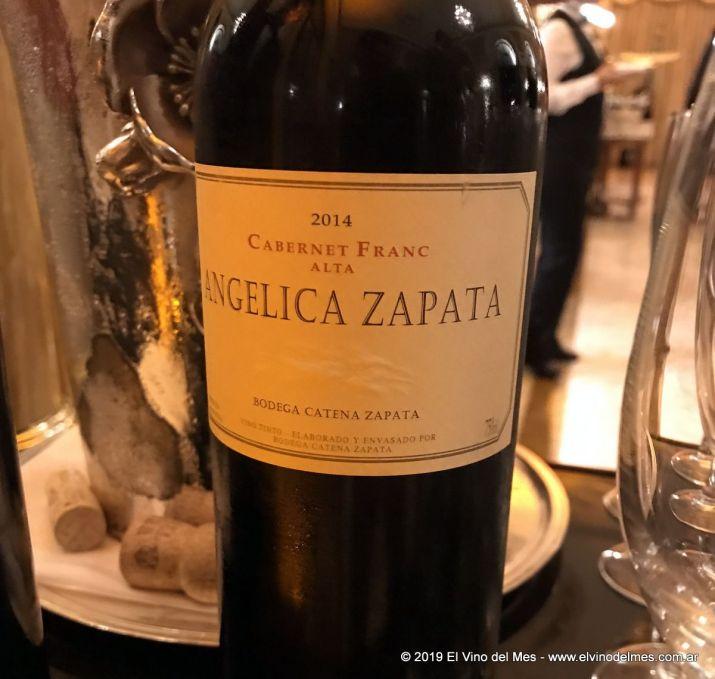 Resumen 2019 de El Vino del Mes - Abril: Angelica Zapata Cabernet Franc Alta 2014