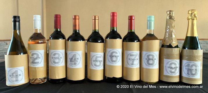 Botellas tapadas para la Velada Etílica de Enero 2020