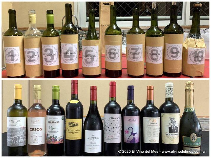 Los vinos de la velada