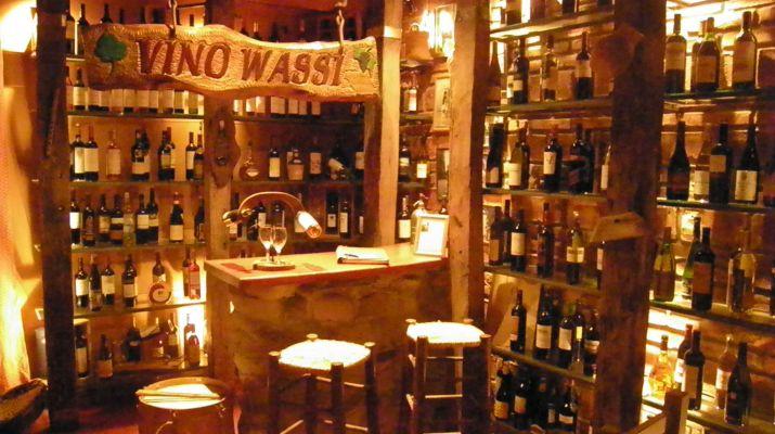 José María el coleccionista y su Vino Wassi