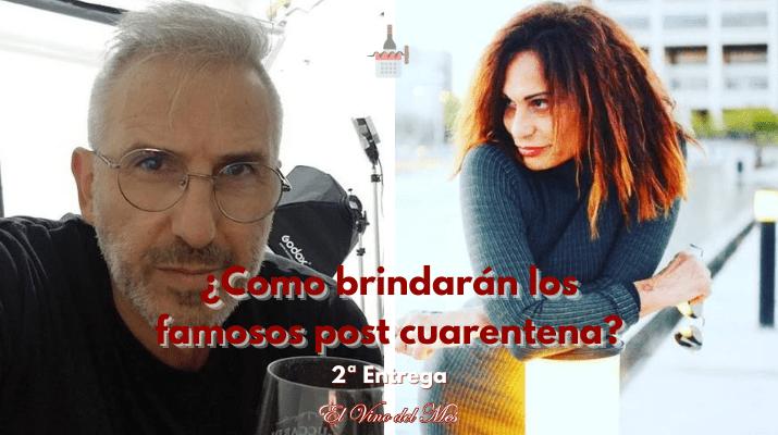 Como brindarán los famosos post cuarentena
