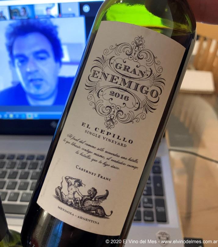 Gran Enemigo Single Vineyard Cabernet Franc El Cepillo 2016 - El Vino del Mes de Noviembre