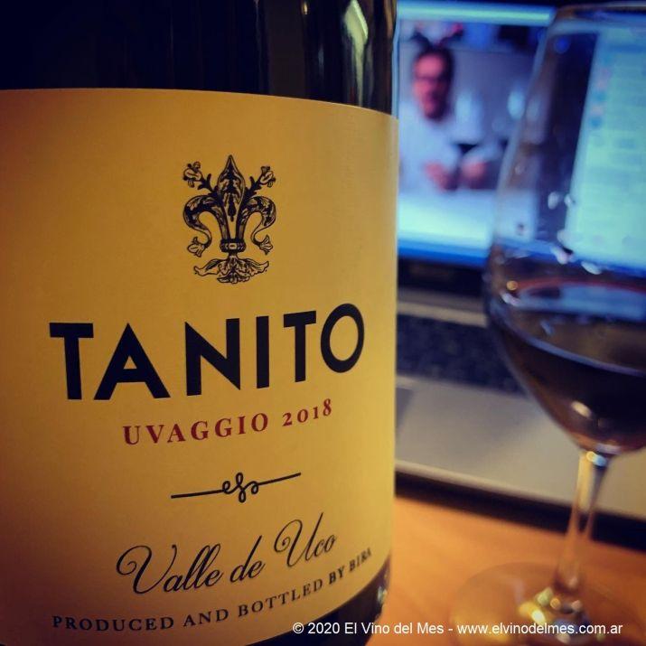 Tanito Uvaggio 2018 - El Vino del Mes de Julio