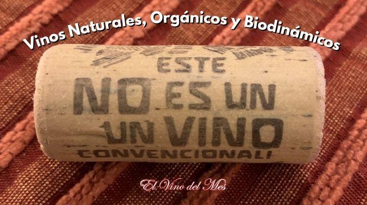 Vinos Naturales Orgánicos y Biodinámicos