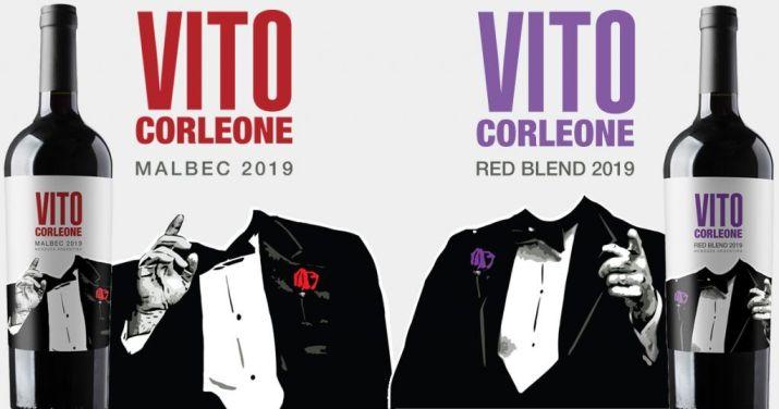 Etiquetas de Mastrantonio Wines Vito Corleone