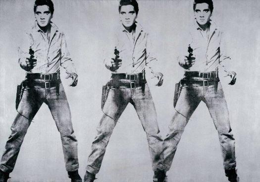 Elvis_Warhol_Triple_1962