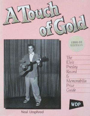 Cover of the book A TOUCH OF GOLD by Neal Umphred.