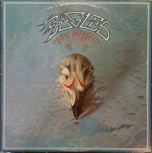 Original RIAA: front cover of the Eagles album THEIR GREATEST HITS 1971-1975.