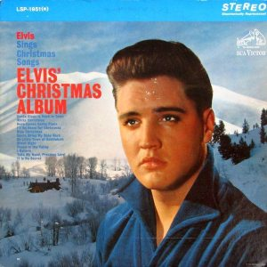 Electronically Reprocessed Stereo: front cover of original stereo ELVIS' CHRISTMAS ALBUM.