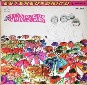 Original RIAA: front cover of Mexican version of the Monkees album PISCES, AQUARIUS, CAPRICORN & JONES LTD.