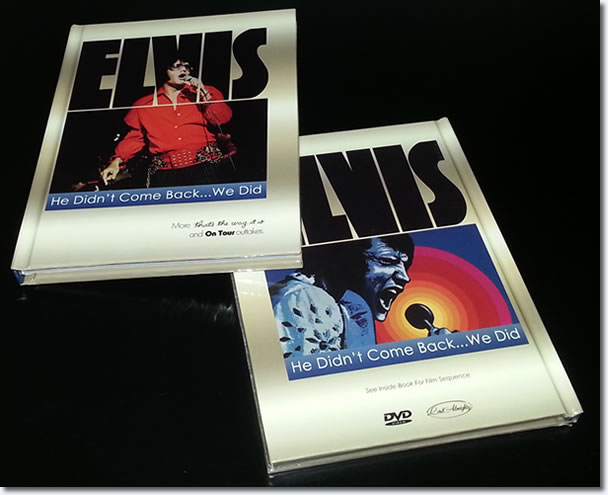 Elvis : He Didn't Come Back We Did : Photo Book & DVD.