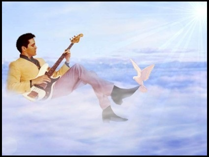 Image result for Elvis in heaven