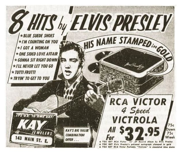 Image result for elvis record player