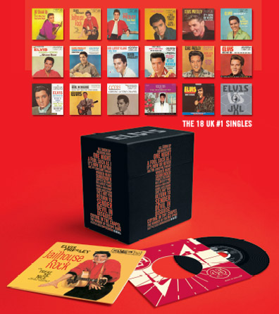 Image result for Elvis #1 singles box set