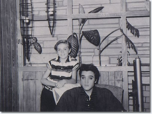 Elvis Presley Knox Phillips and Elvis, Memphis, TN - Tuesday April 9, 1957