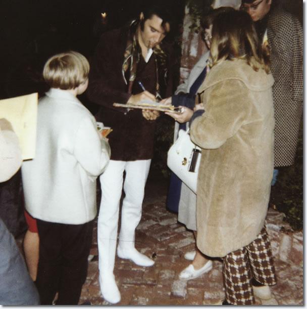 Elvis Presley : Beverly Hills, California : December 12, 1968.