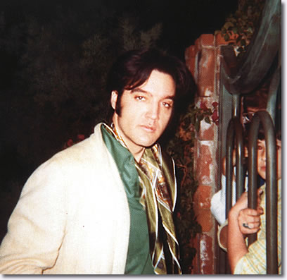 Elvis at his home 1174 Hillcrest, Beverly Hills, California - November 10, 1968